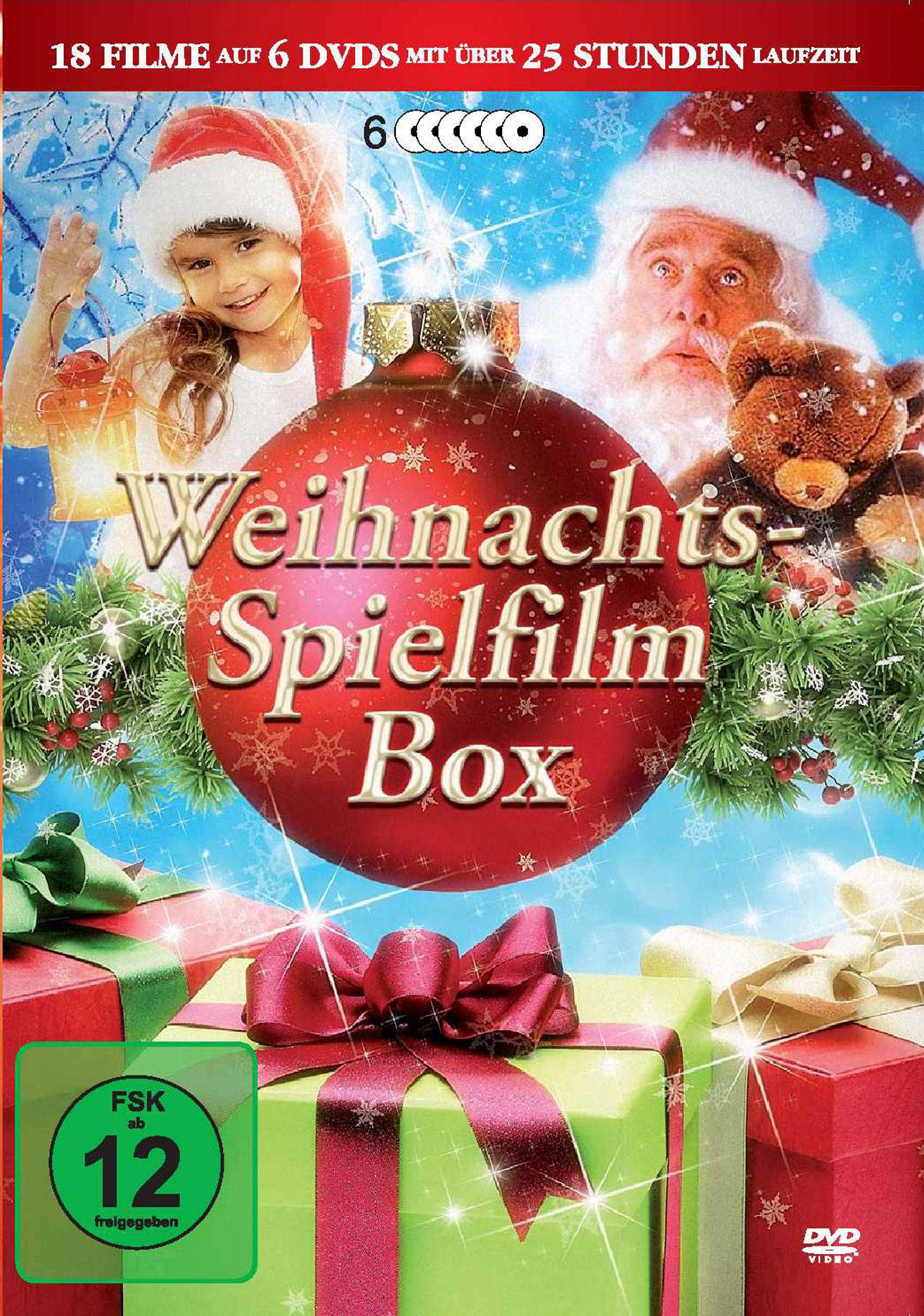 weihnachts spielfilm box die geschenk idee 18 filme. Black Bedroom Furniture Sets. Home Design Ideas