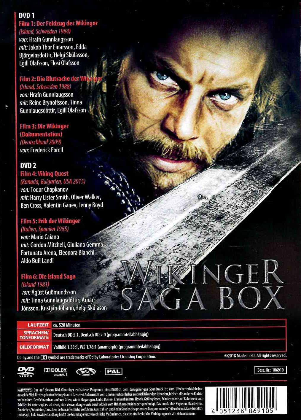 Europa Saga Dvd