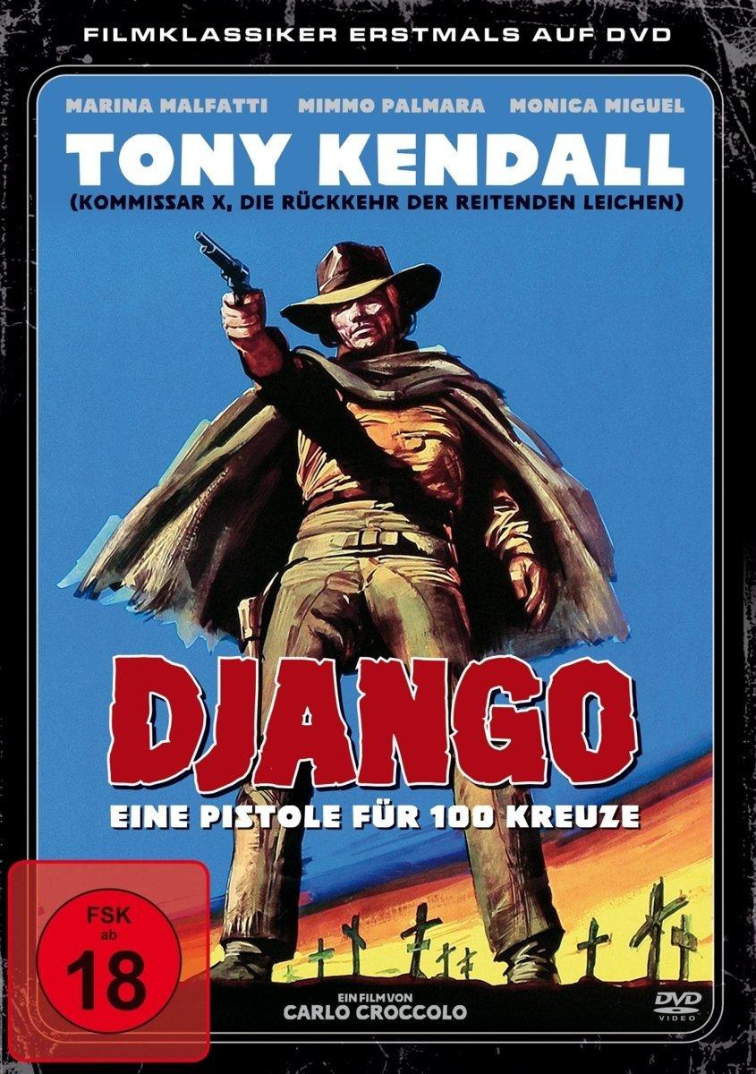 django eine pistole f r 100 kreuze fsk18 dvd neu ovp ebay. Black Bedroom Furniture Sets. Home Design Ideas